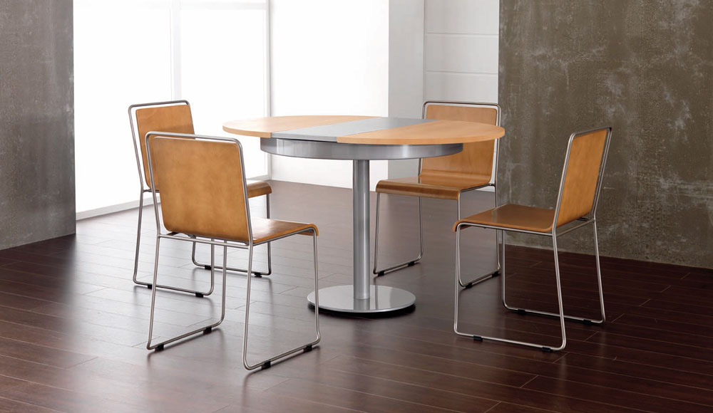 Muebles cocina muebles capsir - Mesa de cocina redonda extensible ...