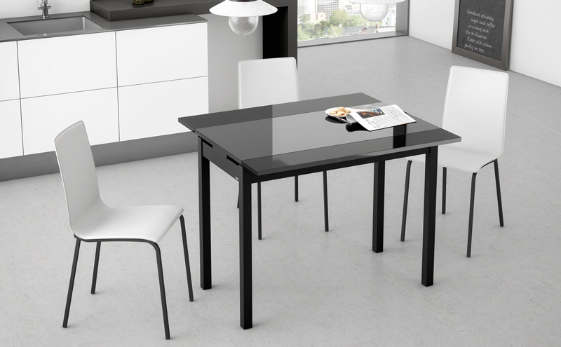 Mesas De Cocina Modernas Extensibles. Elegant Mesa De Cocina ...