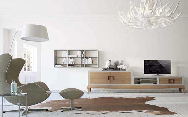 mueble diseño nordico