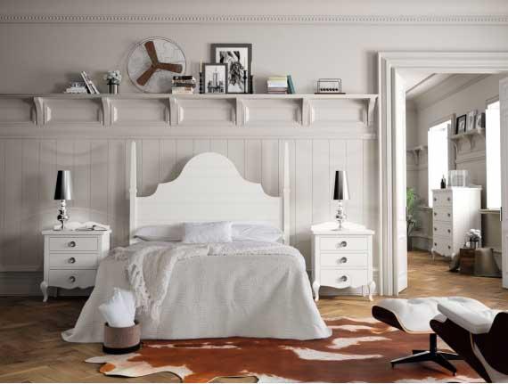 mueble dormitorio clásico
