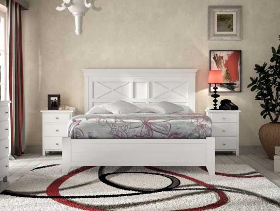 dormitorio blanco mediterraneo