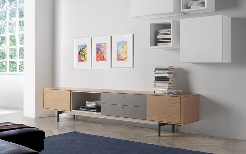 Fotos salones modernos fabulous salones muebles albacete for Muebles moss