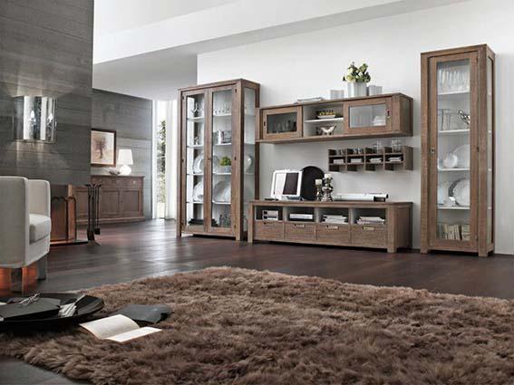 modular madera natural