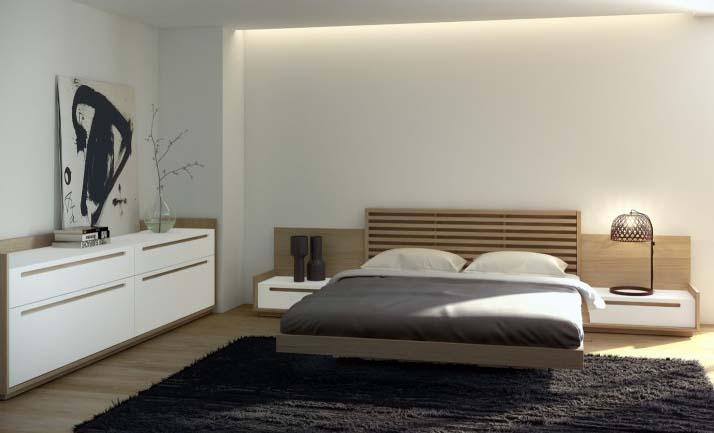 dormitorio diseño nordico