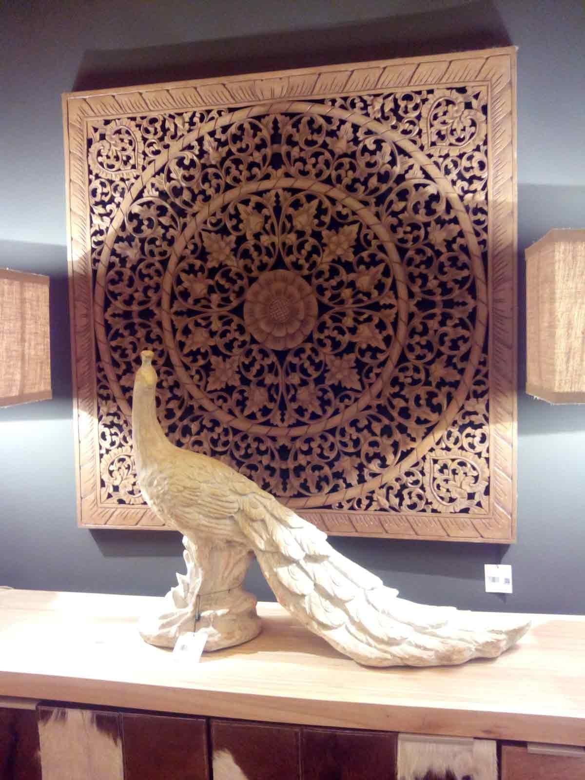 decorar-salón-talla-madera