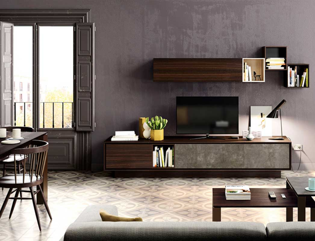 Dise o moderno muebles capsir for Muebles de salon italianos