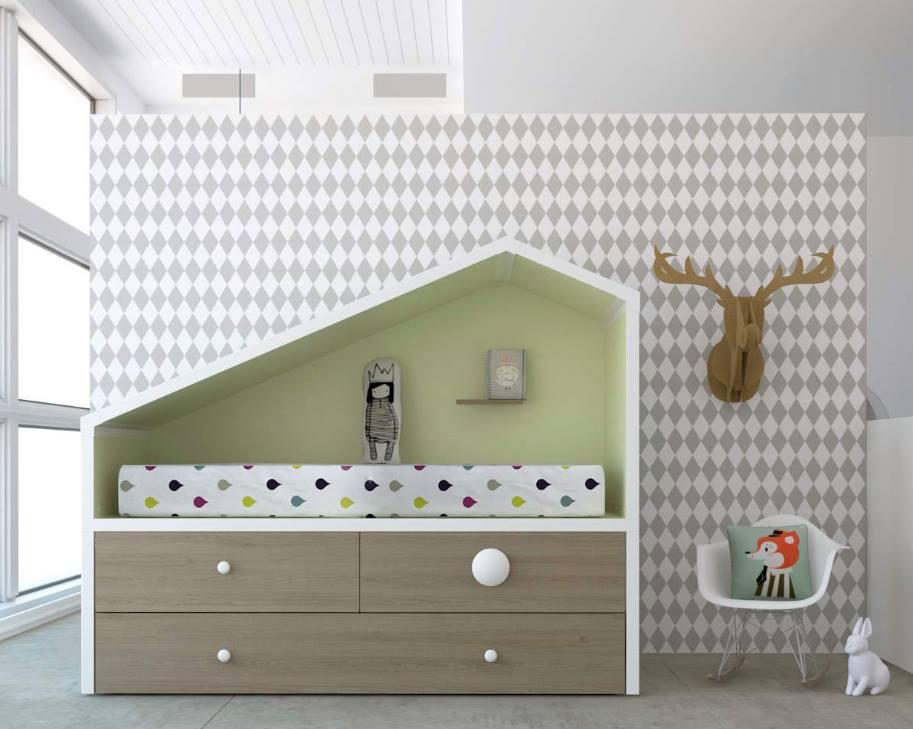 Ideas para habitaciones juveniles muebles capsir for Habitaciones modulares juveniles