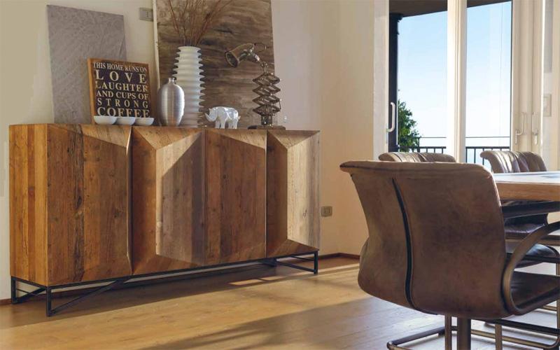 Aparadores muebles capsir for Aparador estilo industrial