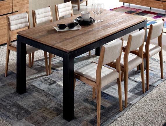Mesas muebles capsir - Mesas comedor industrial ...