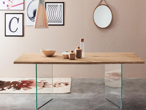 Dise ar tu propia mesa muebles capsir - Patas para mesa de cristal ...