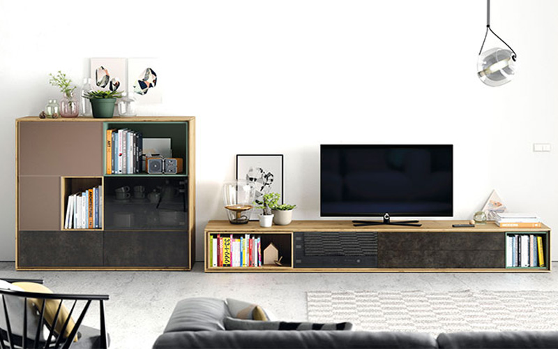 Salones modernos muebles capsir - Muebles capsir ...