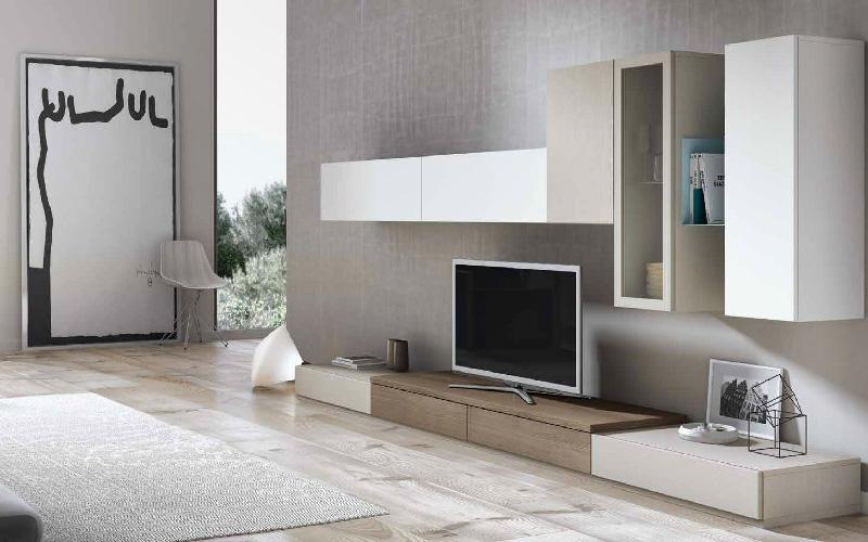 Salones modernos muebles capsir for Muebles aparadores modernos