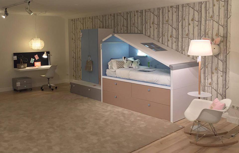 Como colocar dos camas en una habitaci n peque a muebles for Camas dos en una